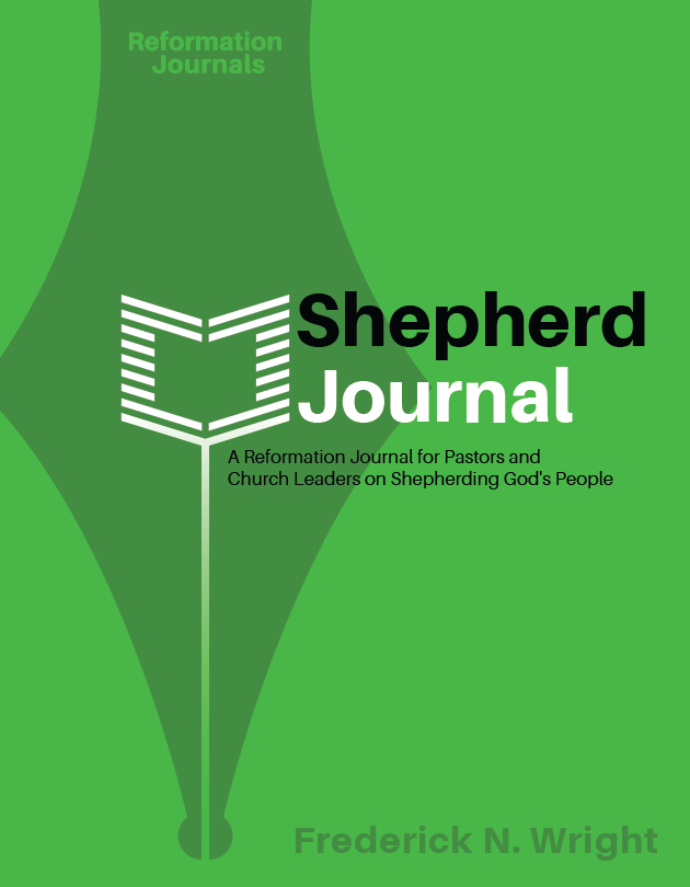 Reformation Journals Cover: Shepherd